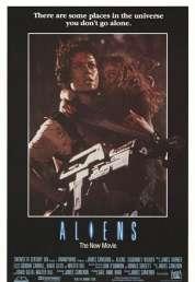 L'affiche du film Aliens le retour