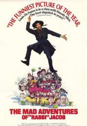 L'affiche du film Les aventures de Rabbi Jacob
