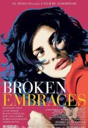 L'affiche du film Les Etreintes brisées