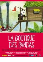 L'affiche du film La Boutique des pandas