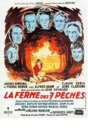 Affiche du film La ferme des sept pêchés