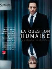Affiche du film La Question humaine