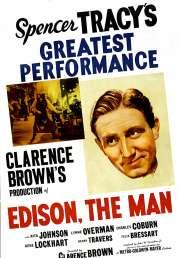 Affiche du film La Vie de Thomas Edison