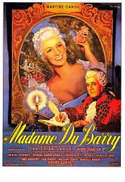 Affiche du film Madame du Barry