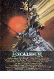 L'affiche du film Excalibur