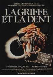 L'affiche du film La griffe et la dent
