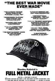 L'affiche du film Full metal jacket