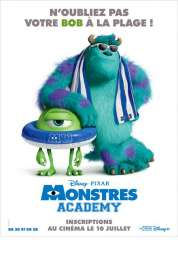 Monstres Academy Jaquette Dvd