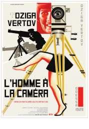 L'affiche du film L'homme à la caméra