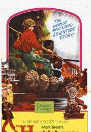 Affiche du film Les aventures d'Huckleberry Finn