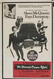 L'affiche du film L'affaire Thomas Crown