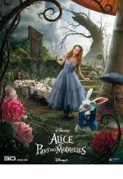 L'affiche du film Alice au Pays des Merveilles