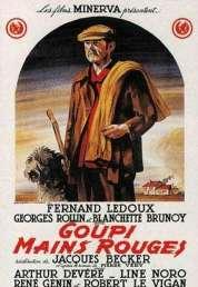 L'affiche du film Goupi mains-rouges