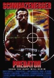 L'affiche du film Predator