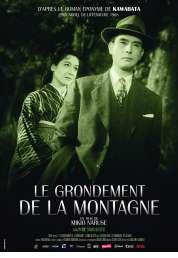 L'affiche du film Le grondement de la montagne
