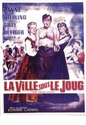 Affiche du film La Ville Sous le Joug