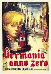 L'affiche du film Allemagne année zéro