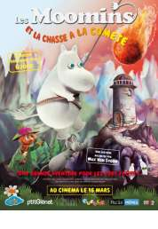 Affiche du film Les Moomins et la chasse à la comète