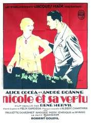 Affiche du film Nicole et sa Vertu