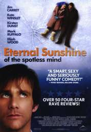 L'affiche du film Eternal sunshine of the spotless mind