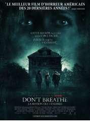 Affiche du film Don't breathe - La maison des ténèbres