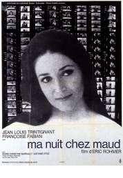 L'affiche du film Ma nuit chez Maud