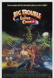L'affiche du film Les aventures de Jack Burton dans les griffes du Mandarin