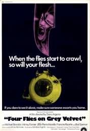 L'affiche du film Quatre Mouches de Velours Gris