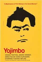 L'affiche du film Yojimbo