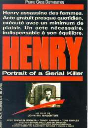 Affiche du film Henry portrait of a serial killer