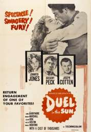 L'affiche du film Duel au soleil