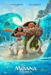 L'affiche du film Vaiana, la légende du bout du monde