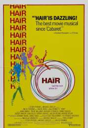 L'affiche du film Hair