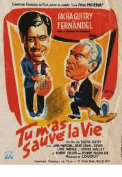 Affiche du film Tu M'as Sauve la Vie
