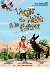 L'affiche du film Vent de folie à la ferme