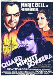 Affiche du film Quand Minuit Sonnera