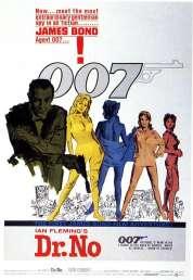 Affiche du film James Bond contre Dr No