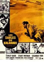 Affiche du film Les Sables du Kalahari