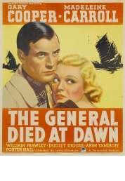 Affiche du film Le General est Mort a l'aube