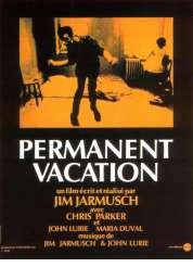 L'affiche du film Permanent vacation