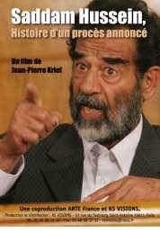 Affiche du film Saddam Hussein, histoire d'un procès annoncé
