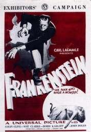 Affiche du film Frankenstein