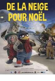 L'affiche du film De la neige pour Noël