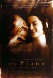 L'affiche du film La leçon de piano