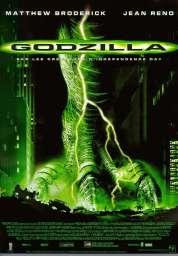 Affiche du film Godzilla