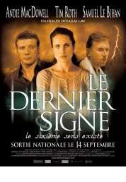 Affiche du film Le Dernier Signe