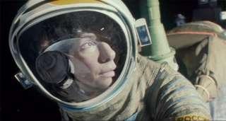 Gravity : Georges Clooney et Sandra Bullock