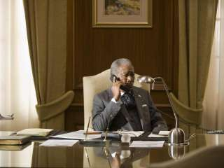 Morgan Freeman est Nelson Mandela dans Invictus