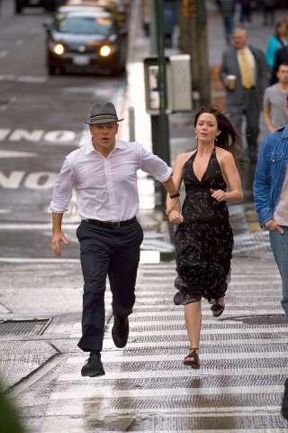 Matt Damon et Emily Blunt dans l'Agence