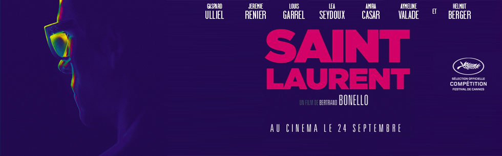 Saint Laurent, le film